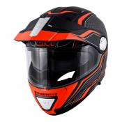Casque modulable Givi X.33 Canyon Division noir mat/orange- 2XL/63