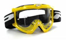 Masque cross Progrip 3301 jaune