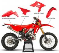 Kit plastique Polisport Beta 525 RR 2013 (rouge origine 15-16)