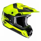 Casque cross Hjc CS MX II - PICTOR - BLACK YELLOW 2020