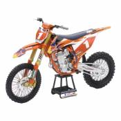 Moto miniature New Ray KTM 450 SXF Ryan Dungey N°1 1/10°