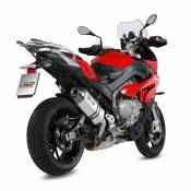 Silencieux MIVV Speed Edge finition inox pour BMW S 1000 XR 2015>