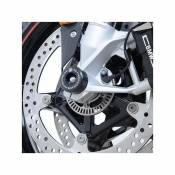 Tampons de protection de fourche R&G Racing noir BMW S 1000 RR 19-20