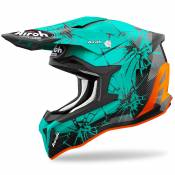 Casque cross Airoh STRIKER - CRACK - GLOSS 2021