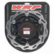 Wrp Floating Front Disc 270 Mm Suzuki Rm-z 2007-2018 One Size Silver