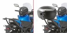 Support de top case Givi Monorack Suzuki GSX 1000F/GS 1000S 15-18