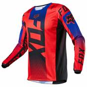 Maillot cross Fox YOUTH 180 - OKTIV - RED FLUO