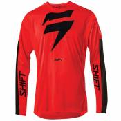 Maillot cross Shift 3LACK LABEL RACE RED BLACK 2020