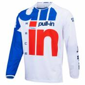 Maillot cross Pull-in RACE WHITE RED 2021