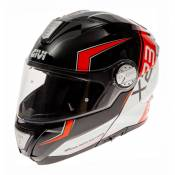 Casque modulable Givi X.23 Sydney Eclipse Viper noir mat/orange- M/58