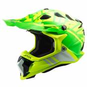 Ls2 Mx700 Subverter Evo Gammax XXXL Gloss High Visibility Yellow / Green