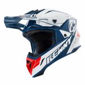 Casque cross Kenny destockage TROPHY WHITE RED NAVY 2019