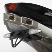 Support de plaque dimmatriculation R&G Racing noir MV Agusta F4 1000