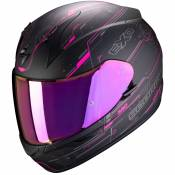 Casque Scorpion Exo EXO-390 - BEAT - MATT BLACK PINK