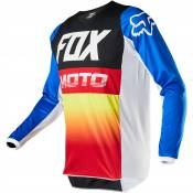Maillot cross Fox YOUTH 180 - FYCE - BLUE RED