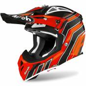 Casque cross Airoh AVIATOR ACE - ART - ORANGE GLOSS 2020