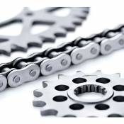 Afam 428 Chain Kit Kymco Hipster 125 02-04&zing 125 96-01 16/41t Silver