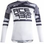 Maillot cross Acerbis VENTED HELIOS GREY WHITE 2021