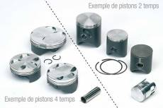 Piston Tecnium Forgé D.70 mm 8204DA SUZUKI TS250 de 1984 à 1985