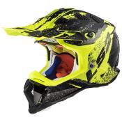 Ls2 Mx470 Subverter S Claw / Matt Black / Hi Vis Yellow