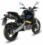 Silencieux double MIVV GP carbone Yamaha MT-03 06-