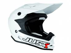 Casque cross Just1 J32 Solid blanc - XS