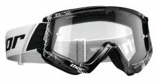 Masque cross Thor Combat Web noir/blanc