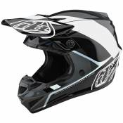 Casque cross TroyLee design SE4 POLYACRYLITE W/MIPS - BETA - SILVER 2020