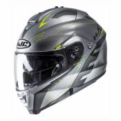 Casque modulable HJC IS-Max II Cormi gris/jaune fluo - XXL