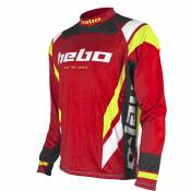 Maillot trial Hebo RACE PRO 3 RED 2021