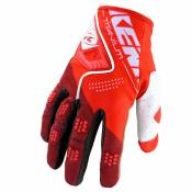 Gants cross Kenny TITANIUM - RED 2020
