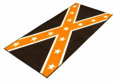 Tapis de garage BikeTek Serie 3 Confederate noir / orange