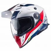 Casque cross Kenny EXPLORER - BLEU BLANC ROUGE