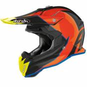 Casque cross Airoh TERMINATOR - OPEN VISION - SLIDER - AZURE GLOSS 2020