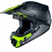 Casque cross Hjc CS MX II - ELLUSION - GREY YELLOW MATT 2020