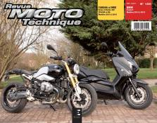 Revue Moto Technique 180 BMW R Nine T 14-16 / Yamaha X-Max 400 / MBK E