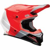 Casque cross Thor SECTOR BOMBER MIPS RED CHARCOAL 2020