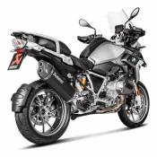 Silencieux Akrapovic titane noir embout carbone BMW R 1250 GS Adventur