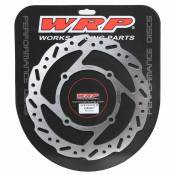 Wrp Fixed Front Disc 250 Mm Kawasaki Kx/kxf/klx 2006-2016 One Size Silver
