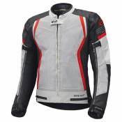 Blouson textile Held AeroSec GTX Top gris/rouge- XL