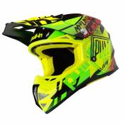 Casque cross Pull-in TRASH NEON YELLOW LIME ENFANT