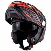 Casque Givi X.33 CANYON - LAYERS MATT BLACK ORANGE