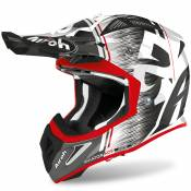Casque cross Airoh AVIATOR ACE - KYBON - RED GLOSS 2021
