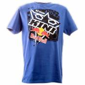 T-Shirt manches courtes Kini Red Bull SQUARE TEE TRUE BLUE