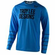 Maillot cross TroyLee design GP AIR - PINSTRIPE OCEAN 2020
