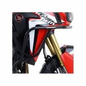 Barres de protection latérales R&G Racing Adventure hautes noires Hon