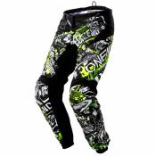 Pantalon cross O'Neal ELEMENT YOUTH - ATTACK - BLACK HI-VIS