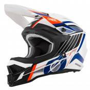 Casque cross O'Neal SERIES 3 - VISION - WHITE BLACK ORANGE GLOSSY 2021