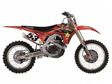 Kit déco + Housse de selle Blackbird Rockstar Energy Honda CRF 450RX 2
