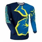 Maillot cross enfant Moose Racing Qualifier bleu/jaune fluo - XL